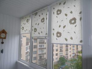 Установка рулонных штор на пластиковые окна в Балашихе